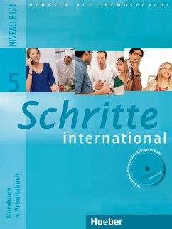 Schritte international 5. Kursbuch + Arbeitsbuch mit Audio-CD zum Arbeitsbuch und interaktiven Übungen
