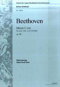 Messe C-Dur op.86, Klavierauszug
