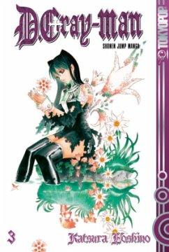 D.Gray-Man Bd.3 - Hoshino, Katsura
