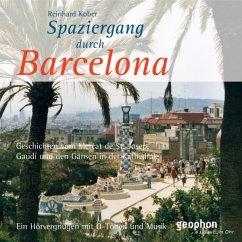 Spaziergang durch Barcelona, 1 Audio-CD - Kober, Reinhard