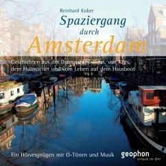Spaziergang durch Amsterdam, 1 Audio-CD - Kober, Reinhard