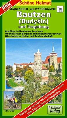Doktor Barthel Karte Bautzen (Budysin) und Umgebung