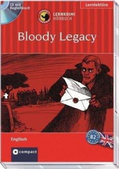 Bloody Legacy, Audio-CD + Begleitbuch - Bacon, Michael