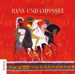 Ilias und Odyssee, 3 Audio-CDs - Jens, Walter