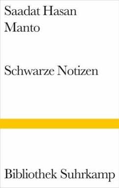 Schwarze Notizen - Manto, Saadat H.