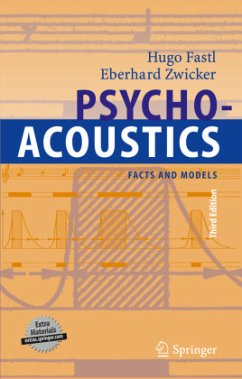 Psychoacoustics - Fastl, Hugo; Zwicker, Eberhard