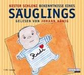 Bekenntnisse eines Säuglings, Audio-CD
