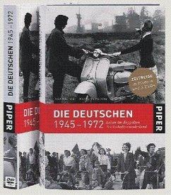 Die Deutschen 1945 bis 1972, Buch u. 3 DVDs - Hosfeld, Rolf; Pölking, Hermann