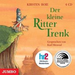 Der kleine Ritter Trenk Bd.1, 4 Audio-CDs - Boie, Kirsten