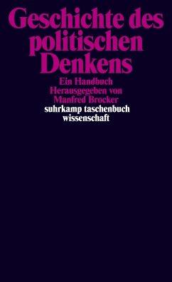 Geschichte des politischen Denkens - Brocker, Manfred (Hrsg.)