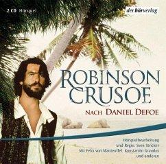 Robinson Crusoe, 2 Audio-CDs - Defoe, Daniel