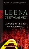 Alle singen im Chor & Auf die feine Art / Maria Kallio Bd.1+2