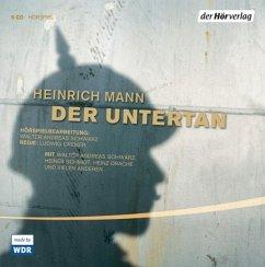 Der Untertan, 5 Audio-CDs - Mann, Heinrich