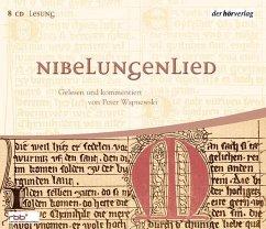 Nibelungenlied, 8 Audio-CDs - Wapnewski, Peter