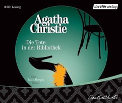 Die Tote in der Bibliothek, 3 Audio-CDs - Christie, Agatha