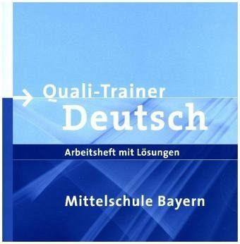 quali trainer deutsch mittelschule bayern schulb cher portofrei bei b. Black Bedroom Furniture Sets. Home Design Ideas