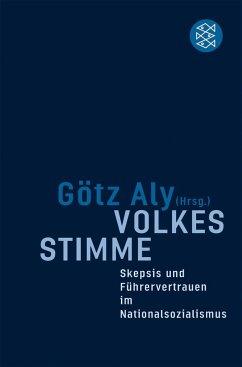 Volkes Stimme - Aly, Götz (Hrsg.)