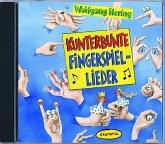 Kunterbunte Fingerspiel-Lieder, 1 Audio-CD