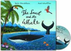 The Snail and the Whale, Audio-CD w. book - Donaldson, Julia; Scheffler, Axel
