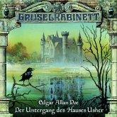 Der Untergang des Hauses Usher / Gruselkabinett Bd.11 (1 Audio-CD)