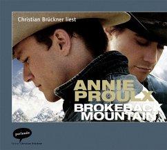 Brokeback Mountain, 1 Audio-CD - Proulx, Annie