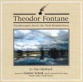 Das Oderbruch, 1 Audio-CD / Wanderungen durch die Mark Brandenburg, Audio-CDs Tl.23