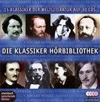 Die Klassiker-Hörbibliothek, 30 Audio-CDs (Silber-Edition)