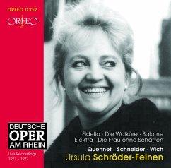 Oper:Fidelio/Walküre/Salome/Elektra/+ - Schröder-Feinem/Quennet/Schneider/Wich/Dor