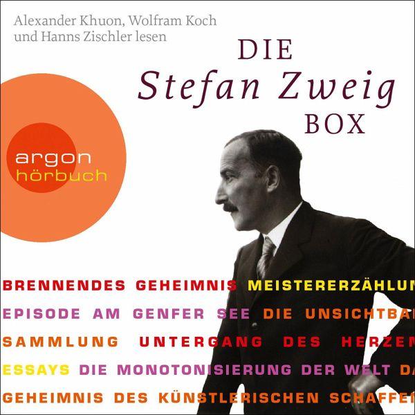 Die Stefan Zweig Box 6 Audio-CDs