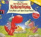 Schulfest auf dem Feuerfelsen / Die Abenteuer des kleinen Drachen Kokosnuss Bd.5, Audio-CD