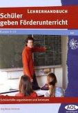Schüler geben Förderunterricht, Lehrerhandbuch
