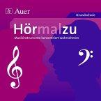 Hörmalzu - Musikinstrumente konzentriert wahrnehmen, 1 Audio-CD, Audio-CD