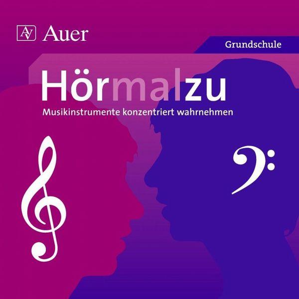 Hörmalzu - Musikinstrumente konzentriert wahrnehmen, 1 Audio-CD - Rehm, Angelika; Rehm, Dieter