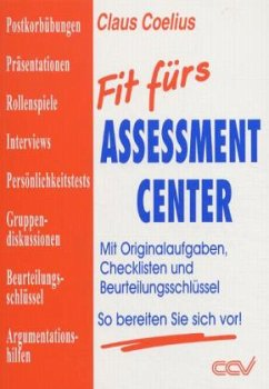 Fit fürs Assessment-Center - Coelius, Claus