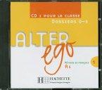 1 Audio-CD pour la classe, Dossiers 1-3 / Alter ego Bd.1, Tl.1