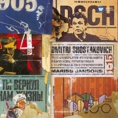 Sinfonien 1-15 - Jansons,Mariss/Various