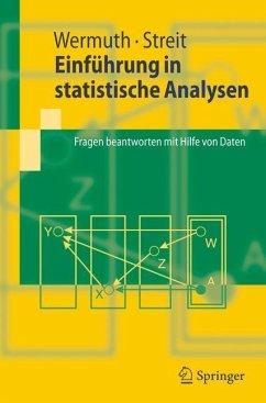 Einführung in statistische Analysen - Wermuth, Nanny; Streit, Reinhold