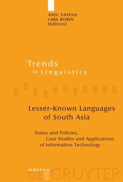 Lesser-Known Languages of South Asia - Saxena, Anju / Borin, Lars (eds.)