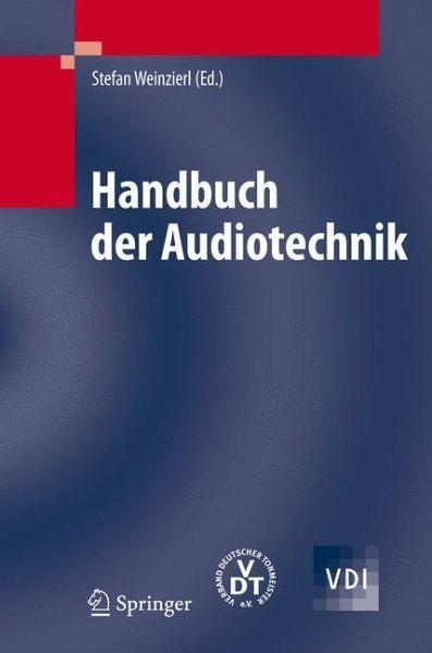 handbuch der audiotechnik von stefan weinzierl hrsg fachbuch b. Black Bedroom Furniture Sets. Home Design Ideas