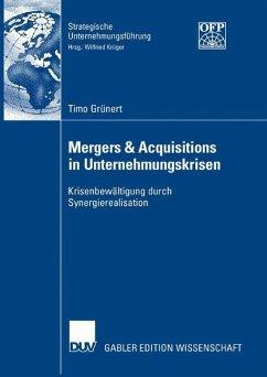 Mergers&Acquisitions in Unternehmungskrisen