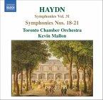 Sinfonien 18-21