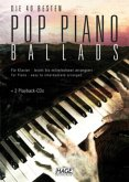Die 40 besten Pop Piano Ballads, m. 2 Audio-CDs
