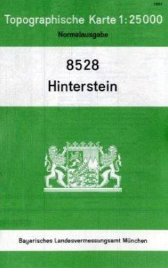 Landesamt Für Digitalisierung, Vermessung Bayern Topographische Karte Bayern Hinterstein