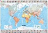 Michelin Karte Die Welt, Planokarte politisch