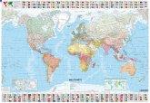 Michelin Karte Die Welt, Planokarte mit Leiste
