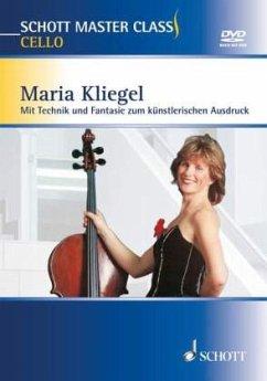 Schott Master Class Cello, m. 2 DVDs