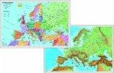 Stiefel Europa politisch; Stiefel Europa physisch, Duo-Schreibunterlage
