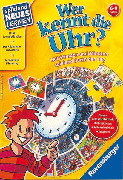 Ravensburger Wer Kennt Die Uhr