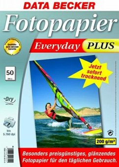 Data Becker Fotopapier Everyday plus 50 Blatt