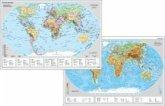 Stiefel Die Erde (physisch); Stiefel Staaten der Welt, DUO-Schreibunterlage